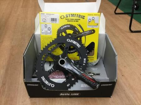 STRONGLIGHT VORACE CARBON CRANKSET 172.5mm  【超特価】